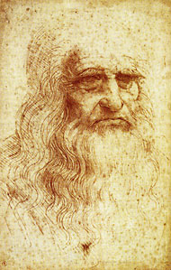 Illustration of Leonardo Da Vinci